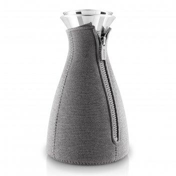 Кофейник cafe solo, в неопреновом текстурном чехле, 1 л, темно-серый