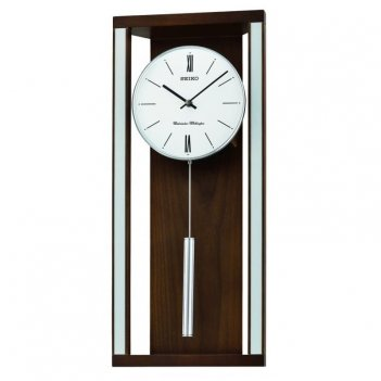 Настенные часы с боем и мелодией seiko qxh068bn