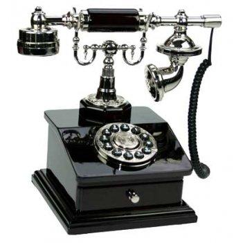 Телефоны в стиле ретро, цвет красное дерево 16*17*19см