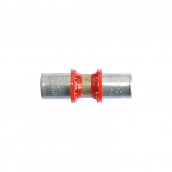 Муфта-пресс tdm brass 1640 2020, 20 х 20 мм, соединительная, латунь