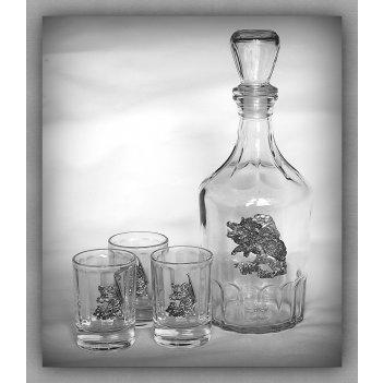 Набор для водки на кабана  арт. нгс130кб-13