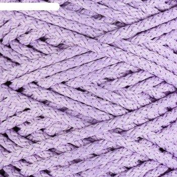 Шнур для вязания с сердечником 100% полиэфир, ширина 5 мм 100м/550гр (96 с