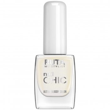 Лак для ногтей ruta nail chic, тон 42, зима