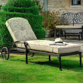Шезлонг трансформер вишневый садъ классик, садовая мебель