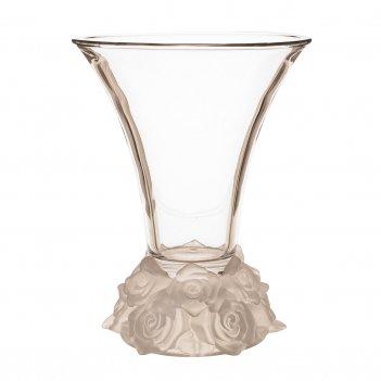 Ваза для цветов crystalite giftware frost розы 25см