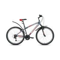 Велосипед 26 forward sporting 1.0, 2017, цвет серый, размер 19