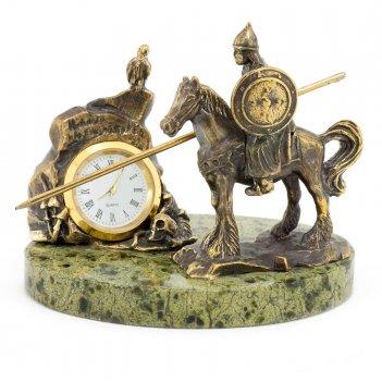 Часы нужный камень бронза змеевик
