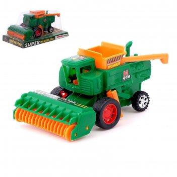 Трактор инерционный «комбайн»