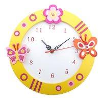 Часы настенные детские бабочки-красавицы