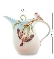 Fm-77/ 1 заварочный чайник зимородок кукабара (pavone)