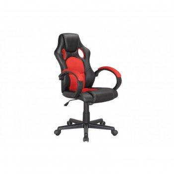 Кресло рабочее max, цвет чёрно-красный