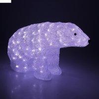 Фигура акрил. мишка 54х30 см, 220v