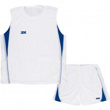 Тренировочная баскетбольная форма 2k sport agio (двухсторонняя), white/whi
