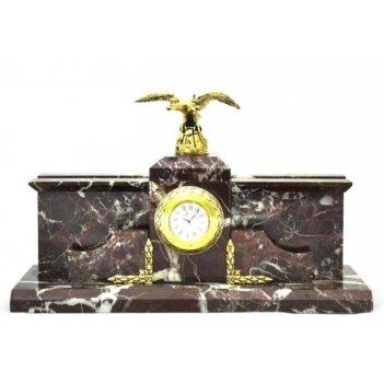 Часы настольные с фигуркой орла