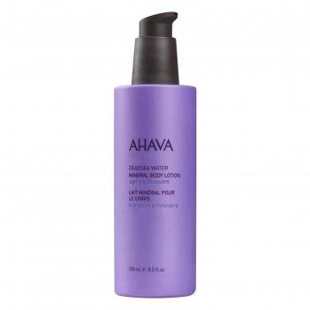 Минеральный крем для тела ahava deadsea water «весенний цветок», 250 мл