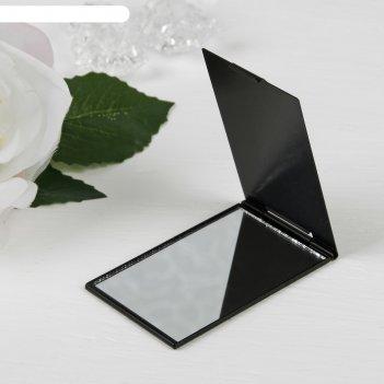 Зеркало прямоугольное под нанесение, цвет черный