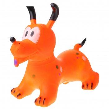Мяч прыгун собачка 58х35х58 см, 1300 гр, цвета микс