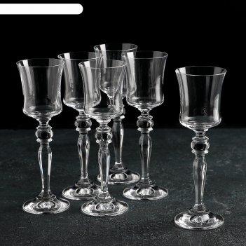 Набор бокалов для ликера 60 мл грация, 6 шт