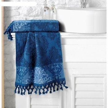 Полотенце ottoman, размер 70 x 140 см, синий