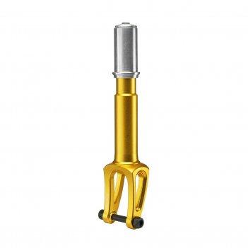 Вилка fox yx ihc 110-120 mm gold