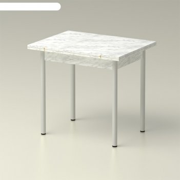 Стол обеденный  раскладной 860х650, мрамор