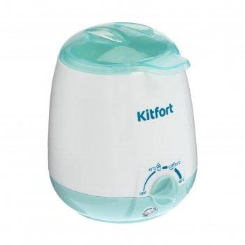 Подогреватель для бутылочек kitfort кт-2301, 3 режима, 40/70/100 °с, белый