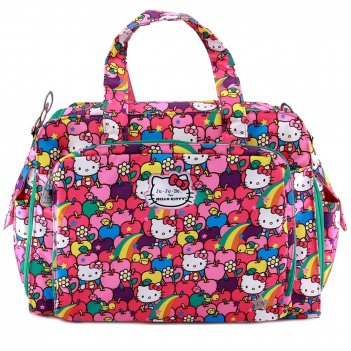 Дорожная сумка или сумка для двойни ju-ju-be be prepared hello kitty lucky