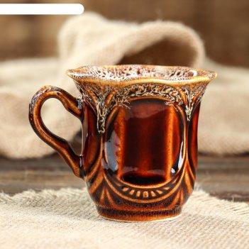 Чашка ажур кофейная, 0,15 л, керамика