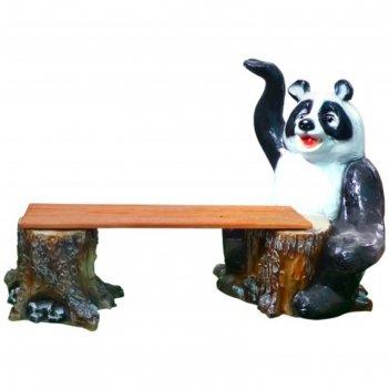 Скамейка панда