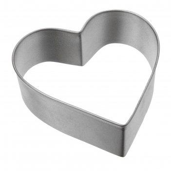 Форма tescoma delicia сердце для печенья, размер 4.5 см