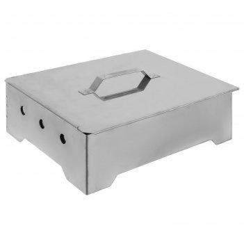 Коптильня-гриль портативная, (сталь 0,8/1,0 мм)