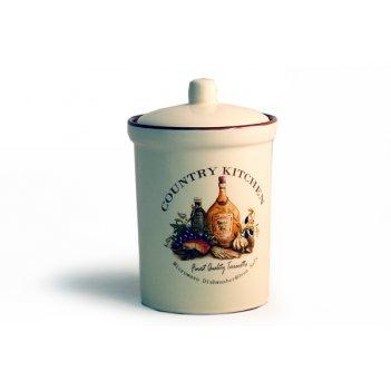 Банка для сыпучих продуктов (маленькая) 14 см сардиния
