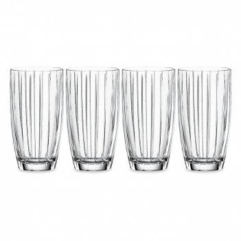 Набор из 4-х стаканов, объем: 412 мл, материал: хрустальное стекло, серия