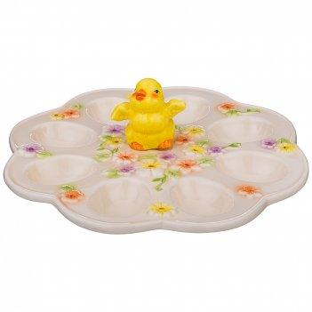 Тарелка для яиц цыпа 24*24*8.5см