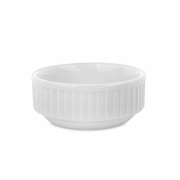 Соусник, объем: 45 мл, материал: фарфор, цвет: белый, серия plisse, 464207