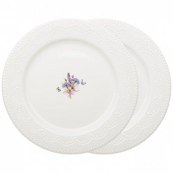 Набор тарелок закусочных lefard прованс ажур 2 шт. 21 см (кор=18наб.)
