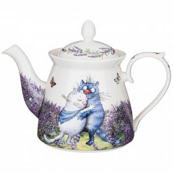 Чайник lefard лаванда 1200 мл 15 см (кор=12шт.)