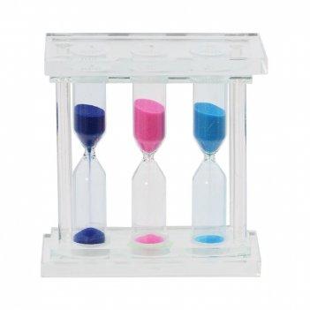 Часы песочные (1; 3; 5 мин.), l10 w4 h10 см, 2в.