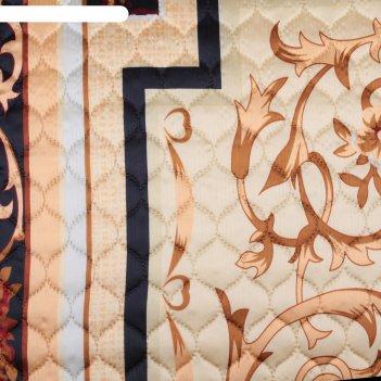 Покрывало 3d marianna евро макси «прада», 230х250 см, искусственный шёлк