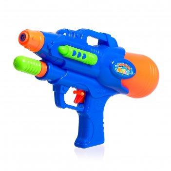 Водный пистолет «град», с накачкой, 24,5 см, цвета микс