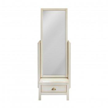 Зеркало напольное валенсия , цвет слоновая кость