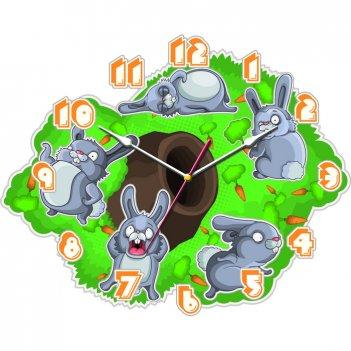 """Часы настенные tiarella """"веселые зайцы"""""""