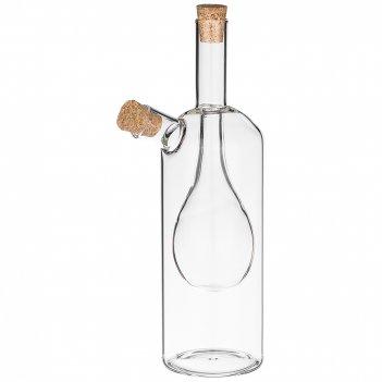 Бутылка для масла/уксуса 215мл. высота=21.5см (кор=24шт.)