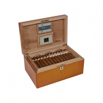 Хьюмидор artwood еscuero на 75 сигар, арт. aw-01-52