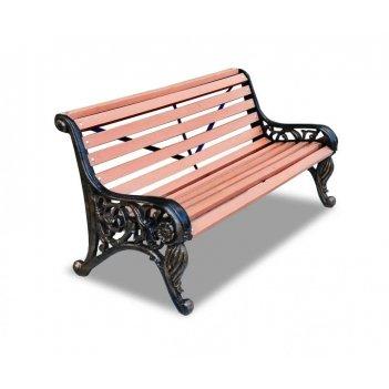 Скамейка с композитом «парковая тишь» 1,5 м