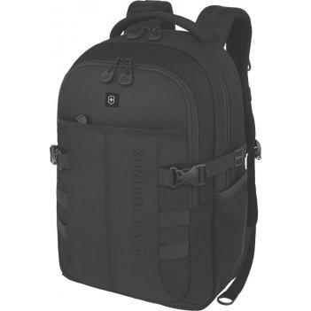Рюкзак victorinox vx sport cadet 16, чёрный, полиэстер 900d, 33x18x46 см,