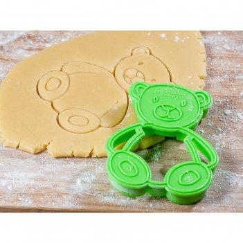 Форма для печенья и пряников мишка