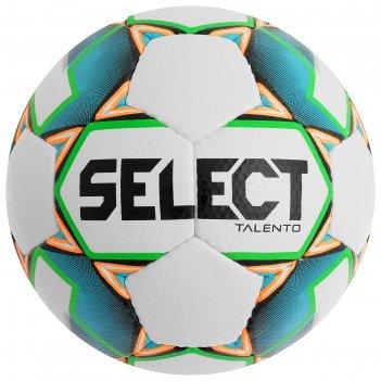 Мяч футбольный select talento, размер 3, pu, ручная сшивка, 32 панели, 4 п
