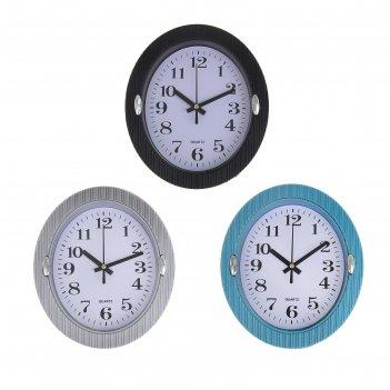 Часы настенные, серия: классика, бенедатта, 19х22 см