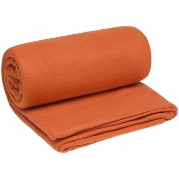 Плед-спальник snug, размер 145x175 см, цвет оранжевый